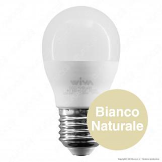 Wiva Lampadina LED E27 8W MiniGlobo G45 - mod. 12100436 / 12100437 / 12100438