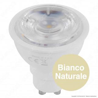 Wiva Lampadina LED GU10 9W Faretto Spotlight 38° Dimmerabile - mod. 12100422 / 12100423 / 12100424