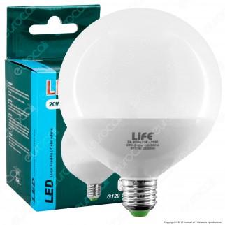 Life Lampadina LED E27 20W Globo G120 - mod. 39.920421F