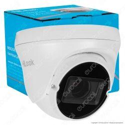 Hikvision HiLook Turbo HD Camera 4MP Telecamera di Sorveglianza Analogica a Colori EXIR 1080p IP66 - mod. THC-T340-VF