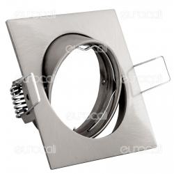 Kanlux NAVI CTX-DT10-C/M Portafaretto Orientabile Quadrato da Incasso per Lampadine GU10 e GU5.3 - mod.2553