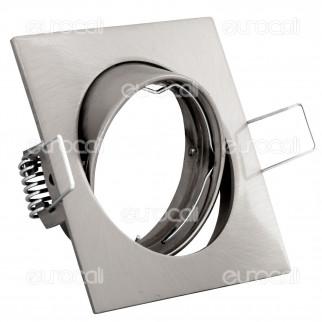 Kanlux NAVI CTX-DT10-C/M Portafaretto Orientabile Quadrato da Incasso per Lampadine GU10 e GU5.3