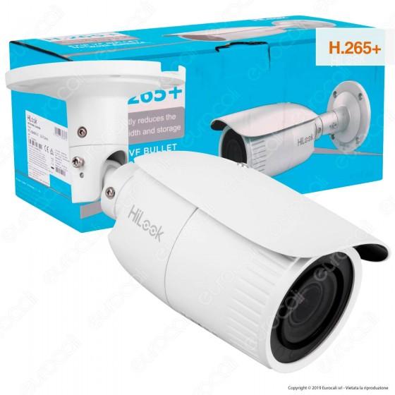 Hikvision HiLook Bullet Network Camera 4MP Telecamera di Sorveglianza IP a Colori EXIR 1080p IP67 - mod. IPC-B640H-Z