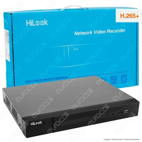 Hikvision HiLook Network Video Recorder Registratore NVR per Telecamere di Sorveglianza con 16 Canali IP - mod. NVR-116MH-C