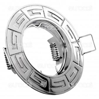 Kanlux RODOS CT-DS09-C Portafaretto Rotondo da Incasso per Lampadine GU10 e GU5.3