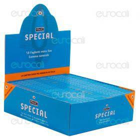 Cartine Gizeh Special Corte Extra Fine - Scatola da 50 Libretti