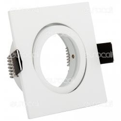 Kanlux DALLA CT-DTL50-W Portafaretto Orientabile Quadrato da Incasso per Lampadine GU10 e GU5.3 - mod.22431