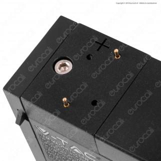 V-Tac PRO VT-4131 Magnetic Linear Light Faretto LED Magnetico 30W Nero CRI≥90 100° - SKU 7956 / 7957
