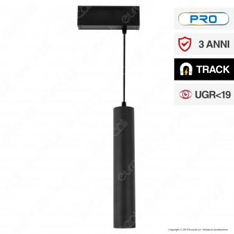 V-Tac PRO VT-4315 Magnetic Pendant Light Lampada LED a Sospensione Magnetica 15W Nero CRI≥90 36° - SKU 7968 / 7969