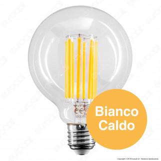 V-Tac VT-2338 Lampadina LED E27 18W Globo G95 Filament - SKU 2803