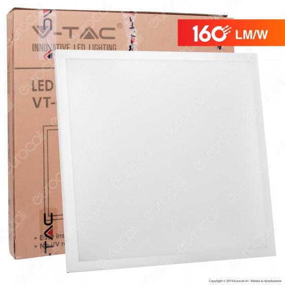 V-Tac VT-6125 Pannello LED 60x60 25W SMD con Driver Incorporato - SKU 6600 / 6601 / 6602