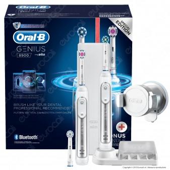 [EBAY] Oral-B Spazzolini Elettrici Ricaricabili e Bluetooth Genius 8900 con 3 Testine di Ricambio - 1