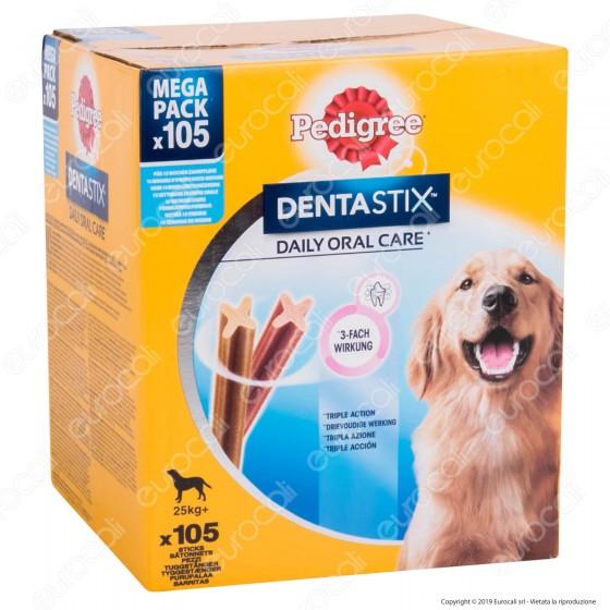 [EBAY] Pedigree Dentastix Large per l'igiene orale del cane - Confezione da 105 Stick - 1