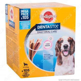 [EBAY] Pedigree Dentastix Medium per l'igiene orale del cane - Confezione da 105 Stick - 1