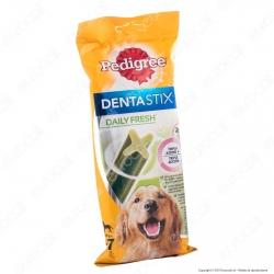 Pedigree Dentastix Fresh Large per l'igiene orale del cane - Bustina da 7 Stick