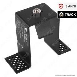 V-Tac Recessed Kit Supporto da Incasso per Binari Magnetici Track Light Nero - SKU 7970