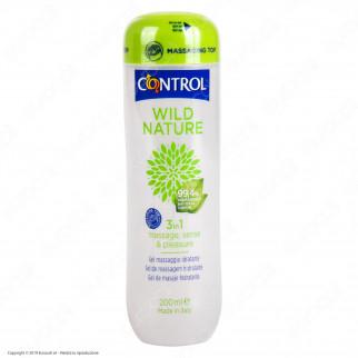 Control Wild Nature 3in1 Gel Massaggio Lubrificante Idratante - 200ml