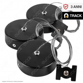 V-Tac Pendant Track Rail Accessory Kit Sospensione per Binari Magnetici - SKU 7977