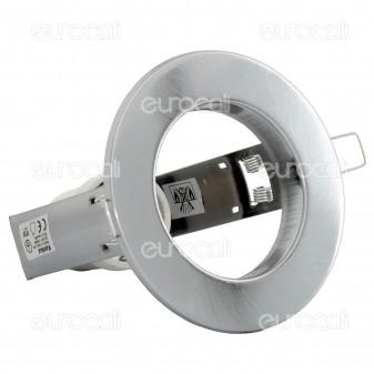 Kanlux RAGO DL-R63-C/M Portafaretto Rotondo da Incasso per Lampadine E27