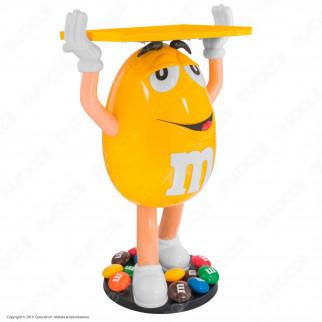 M&M's Character Yellow Espositore da 104cm con 1Kg di M&M's alle Arachidi