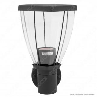 V-Tac VT-835 Portalampada da Giardino Wall Light da Muro IP44 per Lampadine E27 - SKU 8628