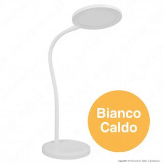V-Tac VT-7507 Lampada LED da Tavolo 7W Orientabile Dimmerabile Colore Bianco - SKU 8673