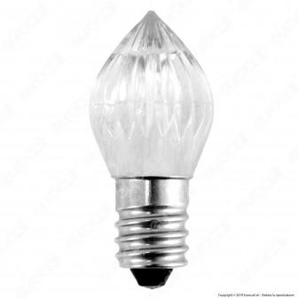 Life Lampada Votiva LED E14 0,5W Candela Fiamma 12V - mod. 39.9E0142C