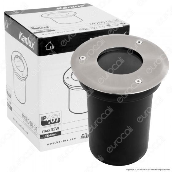 Kanlux MORO DL-35 Portalampada da Interramento per Lampadine GU10 - mod.4870