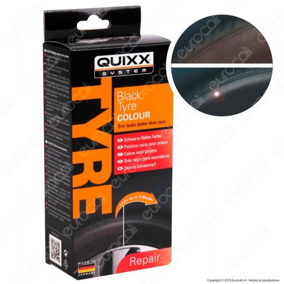 Quixx System Black Tyre Colour Colore Nero Gomme
