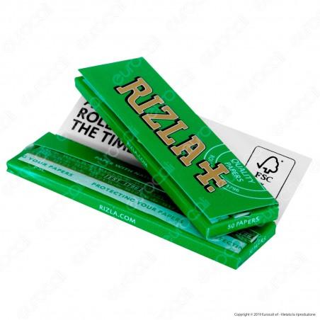 Cartine Rizla Green Corte Verdi - Libretto