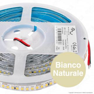 FAI Striscia LED 2835 Monocolore 168 LED/metro 24V IP65 CRI≥90 - Bobina da 5 metri - mod. 5137/BI/CA / 5137/BI/CO / 5137/BI/FR