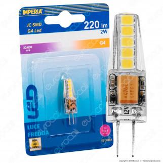 Imperia Lampadina LED G4 2W 12V Tubolare - mod. 6016930 / 6016947 / 6016954