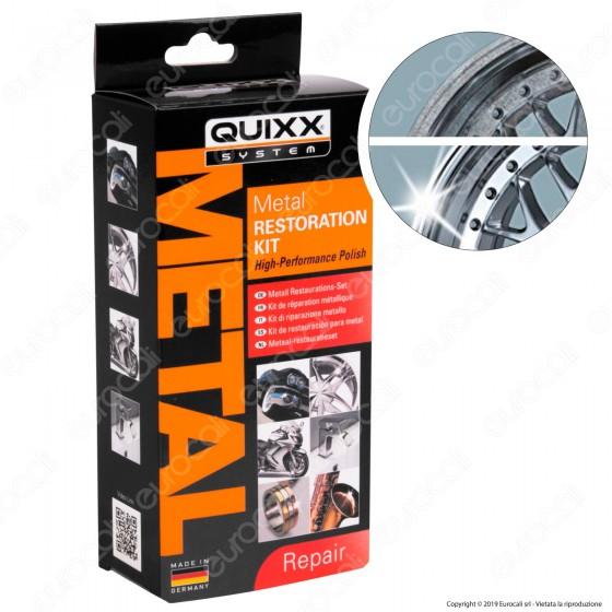 Quixx System Metal Restoration Kit per Lucidatura e Restauro del Metallo