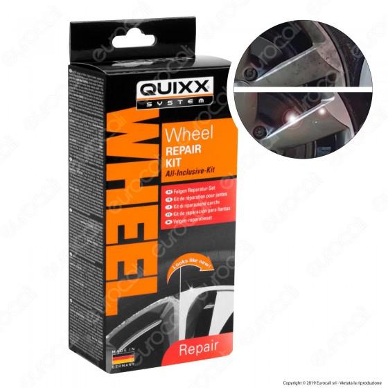 Quixx System Wheel Repair Kit Riparazione Cerchi in Lega per Auto