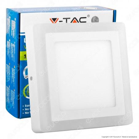 V-Tac VT-1509SQ Pannello LED Quadrato Side Light 15W SMD - SKU 4925 / 4926