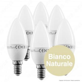 30 Lampadine LED V-Tac VT-2246 Super Saver Pack E14 5,5W Candela - Pack Risparmio