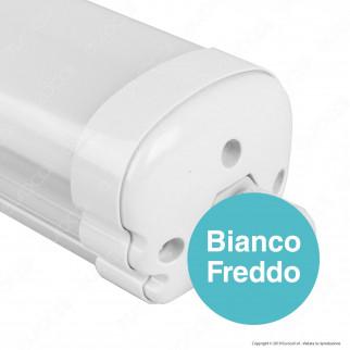 V-Tac PRO VT-1532 Tubo LED Plafoniera X-Series 32W Lampadina 150cm Impermeabile - SKU 6483 / 6484