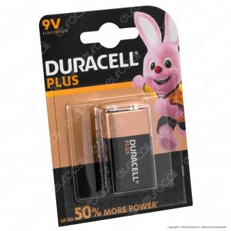 Duracell Plus Alcalina Transistor 9V - Blister 1 Batteria
