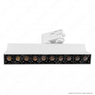 V-Tac PRO VT-431 Track Light LED SMD 25W Faretto 30° CRI≥90 Chip Samsung Bianco - SKU 20009 / 20010