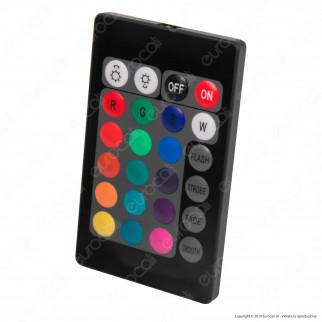 Ener-J Striscia LED Smart Wi-Fi 14,4W 60 LED/metro Multicolore RGB Dimmerabile - mod. SHA5212