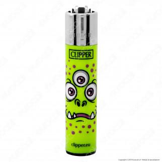 Clipper Large Fantasia Monster Faces - 4 Accendini