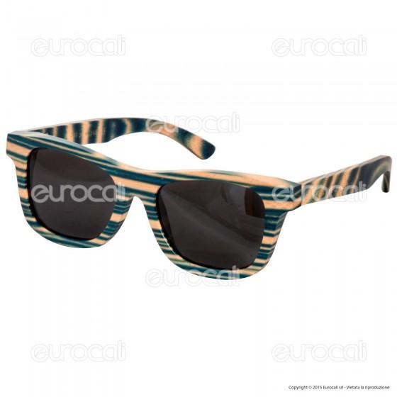Northweek in Legno Timber Mod. 01 - Occhiali da Sole con Lenti Polarizzate
