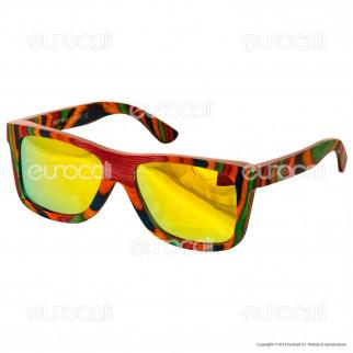 Northweek in Legno Timber Mod. 02 - Occhiali da Sole con Lenti Polarizzate