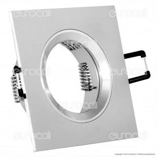 Kanlux RADAN CT-DSL50 Portafaretto Quadrato da Incasso per Lampadine GU10 e GU5.3