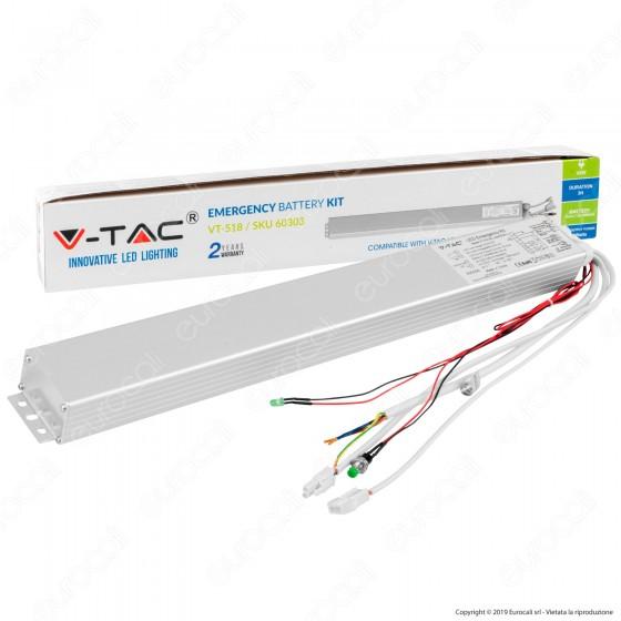 V-Tac Kit di Emergenza per Pannelli LED da 29W a 45W - SKU 60303