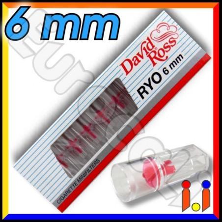 David Ross Microbocchini Ryo 6mm - Blister da 10 Microbocchini