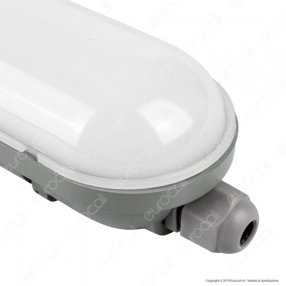 V-Tac VT-1548 Tubo LED Plafoniera 48W Lampadina 150cm Impermeabile - SKU 6184 / 6185