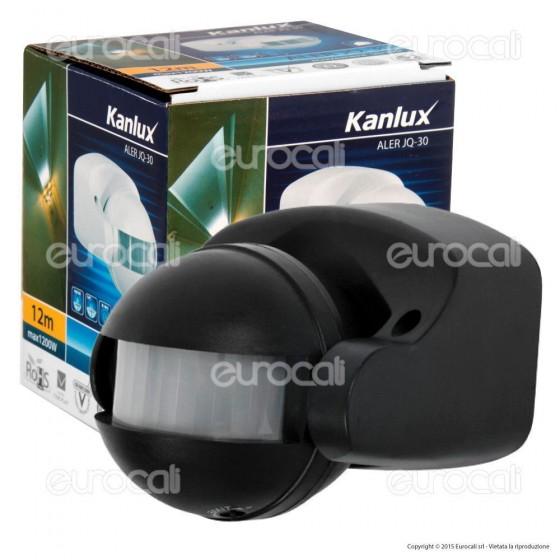 Kanlux ALER JQ-30-B Sensore di Movimento a Infrarossi per Lampadine