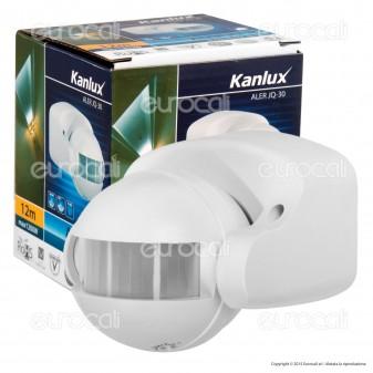 Kanlux ALER JQ-30-W Sensore di Movimento a Infrarossi per Lampadine