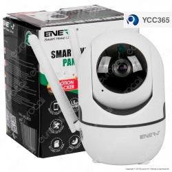 Ener-J Smart Wi-Fi HD Indoor Pan Tilt Camera Telecamera di Sorveglianza Sensore 1.3MP Infrarossi 960p - mod. IPC1023